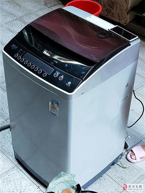 出售海尔变频全自动洗衣机,成色89成新,无暗病,网上同型号报价2千多,7公斤大容量,变频洗衣机比普通...