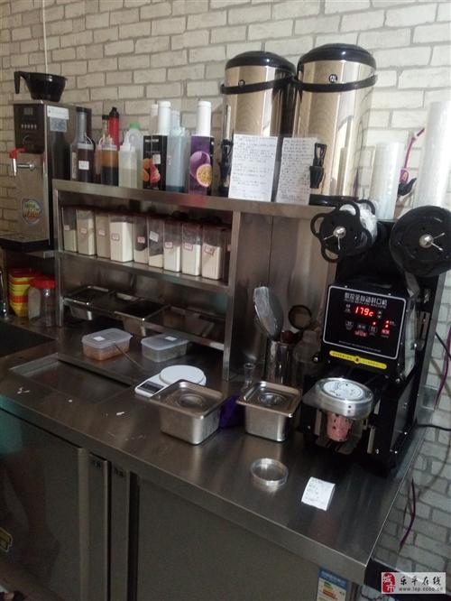 奶茶店全套設備,工作臺,冰淇淋機……