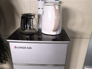 志高(CHIGO)智能饮水机立式茶吧机家用节能省电办公室全自动上水 时尚银    凯丽香江