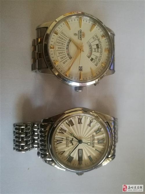 闲置的手表出售,双狮全自动机械手表,西铁城机械全自动表,喜欢的联系我18993781005非诚勿扰,