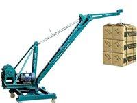 出售起重机器楼上用机器市场装货机器都可以用需要的联系15731739925