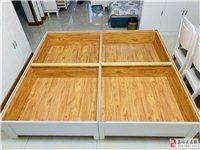 全新木床(自己打的),规格180*200,因为家里买了全套家具,所以便宜出售,物美价廉,有意者欢迎咨...
