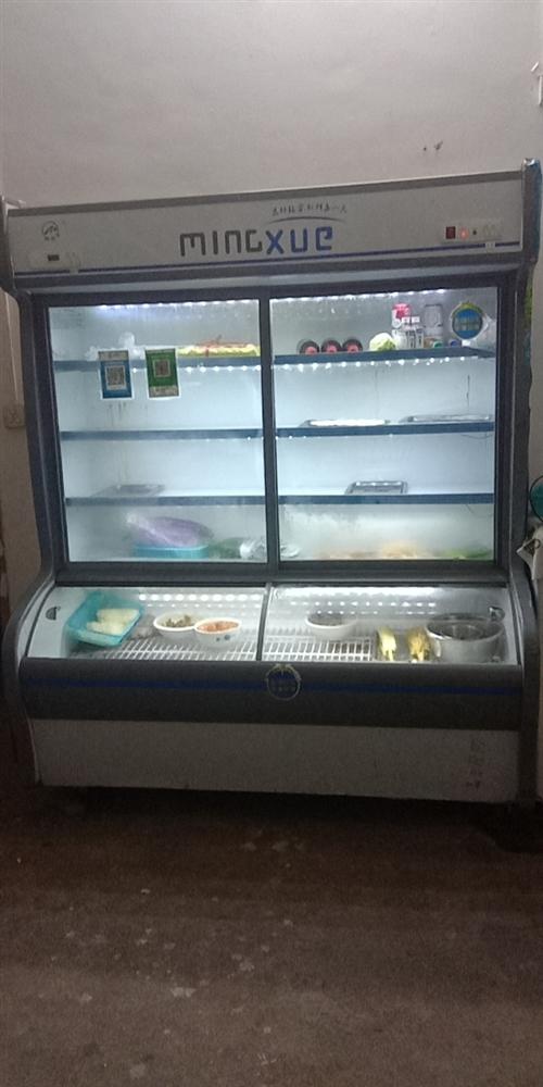 九成新,一米六的点菜柜。