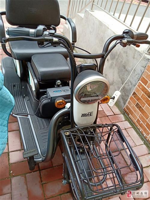 高仕電動三輪車,8月20號的新車,出售3400元