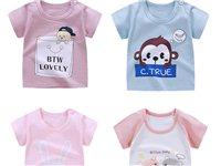 兒童t恤短袖純棉寶寶卡通薄短袖