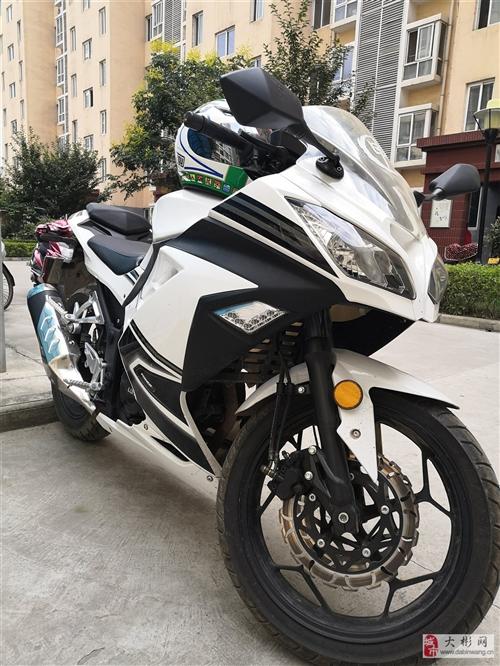 出售《2019年1月国产三小忍者机车地平线摩托车》92号汽油,200cc发动机,水冷式,无任何事故及...