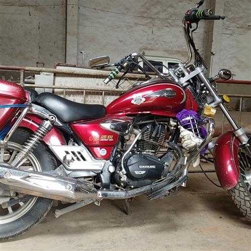 大阳150太子摩托车,车子手续齐全,成色好,没任何毛病,因个人原因便宜卖了,有需要的赶快联系我哈