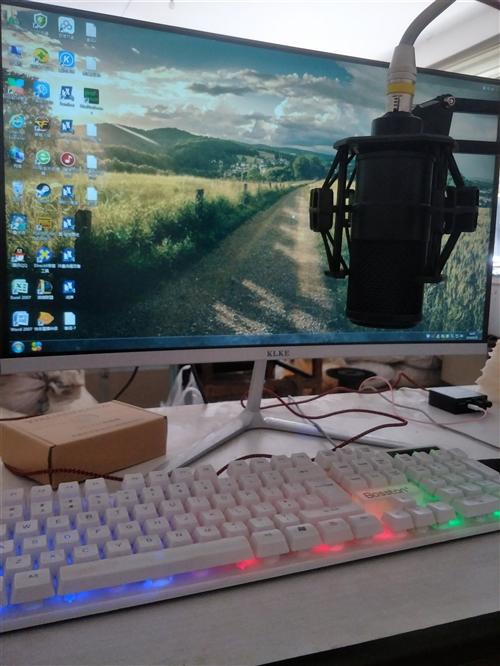自用电脑和一套内置创新5.1声卡加一个转换器,电脑用了一个多月价格4590元 内置5.1声卡和转换器...