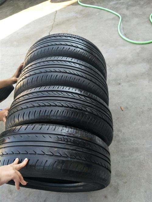 195R65/15自己車升級換下來的,輪胎花紋七成新,輪胎沒補過,便宜處理了,4條