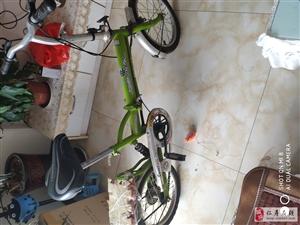 折叠自行车很少用,低价处理