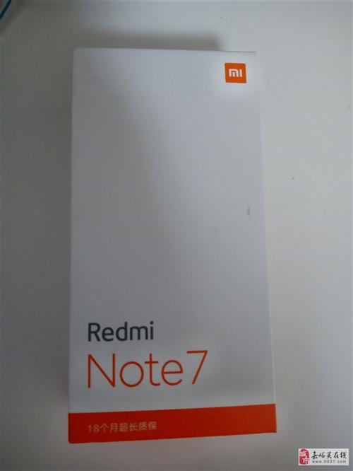 Retminote7未拆封,未激活,由于急用錢便宜出售電話15393261122