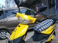 黄色小刀电动车980,没毛病,红色爱玛电动车1080元,车况好