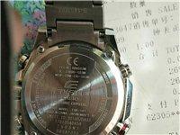 卡西歐eqb-501xyd-1apr. 9.9成新  因為個人原因忍痛出手 本人戴的少 表盤沒有劃痕...