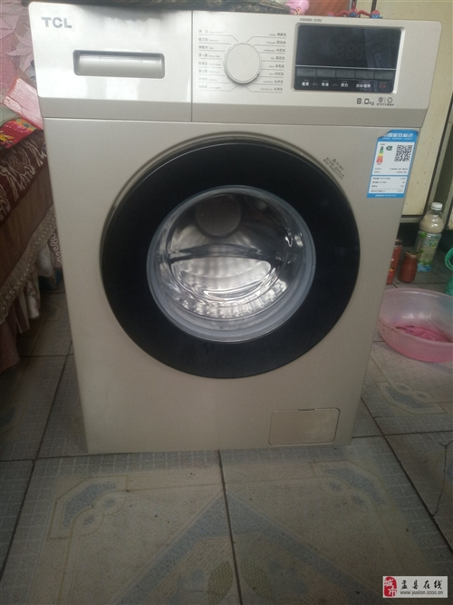 tcl全自動10公斤洗衣機95新用了兩次。