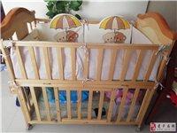 宝宝生下来一直和大人睡,用不上。200元出。可以推着走 可摇睡,一直盖着没落灰。