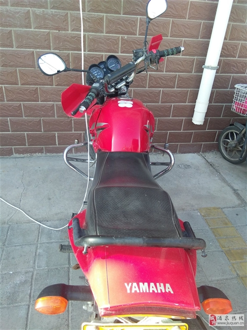 雅马哈摩托车. 12年的跑了13600公里. 低价出售3000元不包过户.