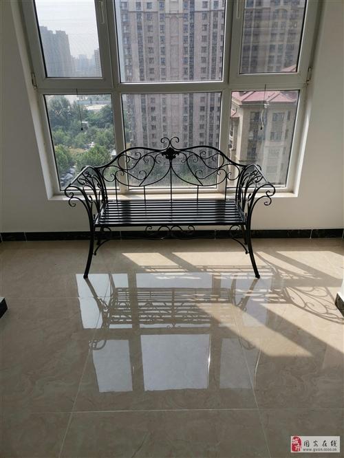 鐵藝雙人椅,全新,100自取,固安孔雀大衛城