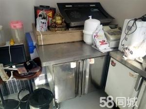 郑州知名加盟鸡排汉堡店,因家中有事,无力经营, 处理店内一批设备以及终身加盟合同。设备有1.2m水...