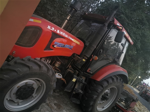 雙力1504四驅農用拖拉機,車輛2017年8月份,帶旋耕機,博興城東經濟開發區,隨時歡迎看車,186...