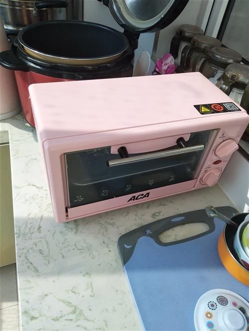 本人出售一台电烤箱,230买的,用了两次九层新,不咋会烤,预出售100元!