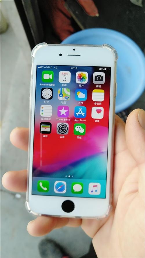 自用蘋果6,16g,換過屏,觸摸好用,不二價,四百帶走!九成新!18866728001微信同號