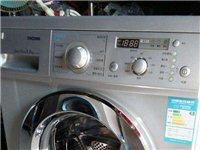 全新滚洞洗衣机没用过