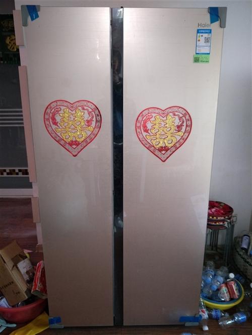 海尔冰箱,在县里海尔专卖店买的,九成新,只用几天,买的时候七千多,有意者电话联系