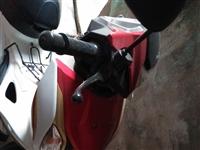 一辆五羊本田摩托车出售,有需要的联系,原价7千多