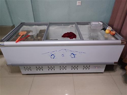 九成新,尺寸2m?1m,用了半年,买时3000+. 24小时断电保温的,冷冻任何食品,因没地放,急处...