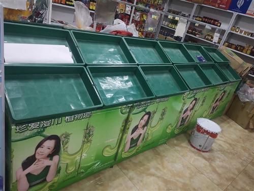 本人有完好货架便宜出售,单组规格1.8×1.4×1.05m,共两组,自己制作牢固耐用,可用于摆放蔬菜...