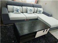 全新沙發、茶幾和電視柜一套出售,有意者價格面議!