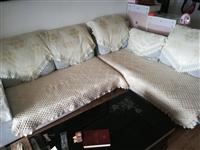 本人更換新沙發,家用3-2-1沙發一組,低價出售??!