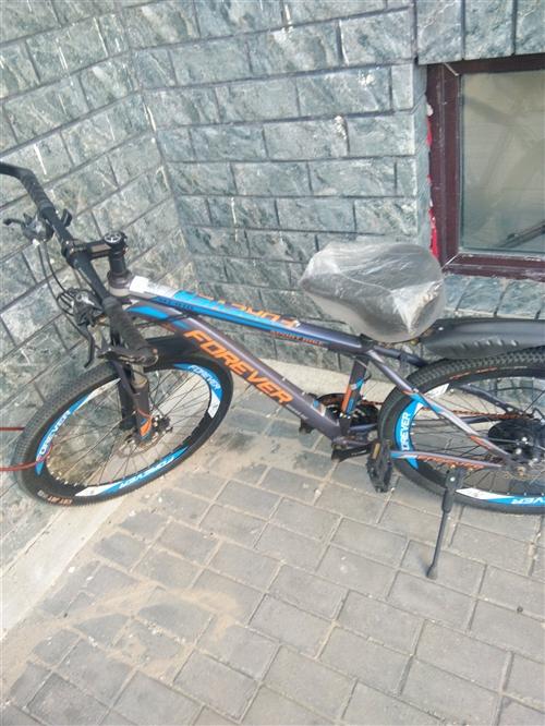 永久牌山地自行車買了不到1年的車,9成新,沒怎么騎過!