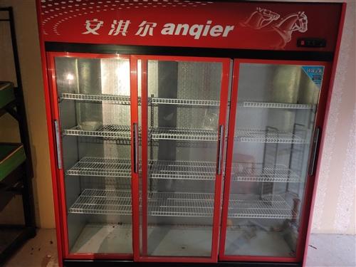 店铺经营不善 现有99新展示柜 冷藏柜 货架 不到半年 出售 15071888826微信同号