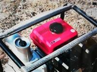 4寸汽油泵八成新