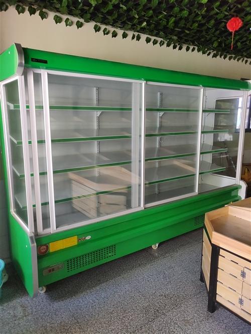 八月份刚买的3米直冷展示柜现低价转让