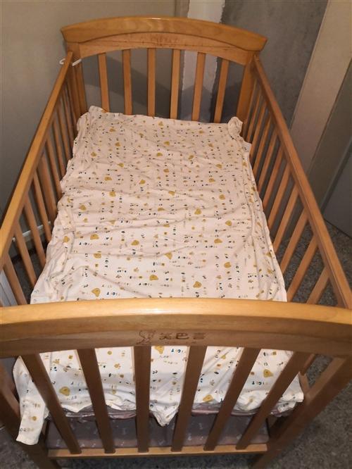 纯实木婴儿床,低价处理!