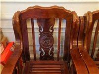 实木沙发简约沙木头办公椅子椅木头沙发 50一把,二把90元同城自取拉走地址黄大仙路222