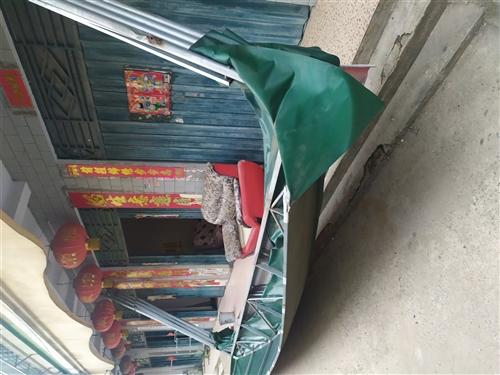 九成新遮陽棚,七米長,3.5米高,適合為愛車遮風擋雨,適合新農村晾曬遮陽,用途多多,實心想買,價格面...