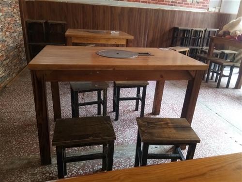 整套:桌子,凳子,气灶