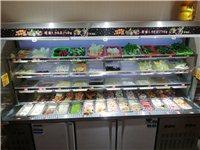 麻辣燙展示柜,2.7米九成新,麻辣燙店不做了低價轉讓