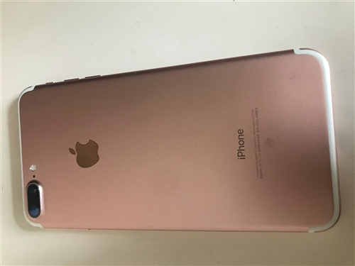 iPhone7Pluas 128G 过保 95新 有玫瑰金 黑色 可选择 诚心购买可联系 可看机子 ...