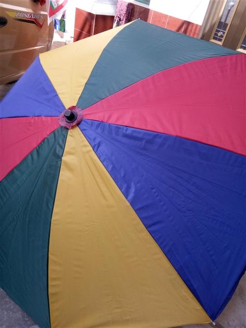 本人有一把7成新的遮阳伞是做生意用的,因我本人有事要外出所以这遮阳伞放在家里就是闲置了,想便宜出售。