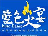 内蒙古万众炜业环保股份公司生产的蓝色火宴烧烤炭,现诚招县乡镇区域代理,财富热线:1597721817...