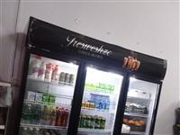 开店用的货架和冰箱出,有需要的电话联系。