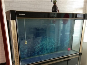 下过滤鱼缸,长1.5米,高1.5米,宽50厘米,立式大型鱼缸,过滤器,水泵,加热棒,消毒灯,过滤棉等...