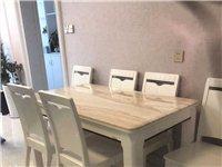 餐桌椅九成新,原价打折3800买的,现1500出