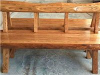 純實木長椅,長140,寬45,買了沒用過,現低價出售,Q Q371175827
