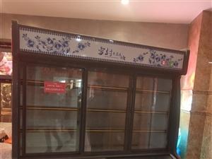 雪村展示柜,上面冷藏下面冷��。自用半年,效果�^好。