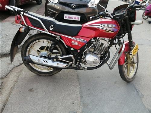 型號:豪爵銀豹125一7D,買時6500元,現低價轉讓,九成新車況良好。聯系電話:159652664...
